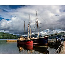 Clyde Puffer Photographic Print