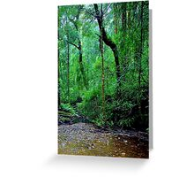 Lush and Green Greeting Card