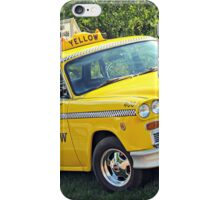Yellow Cab 1 iPhone Case/Skin