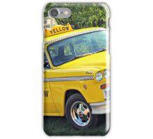 Yellow Cab 1 iPhone Case/Skin