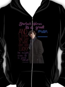 BBC Sherlock: Lestrade Quote. T-Shirt