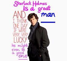 BBC Sherlock: Lestrade Quote. Unisex T-Shirt