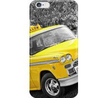 Yellow Cab 2 iPhone Case/Skin