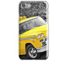 Yellow Cab 2 iPhone Case/Skin