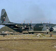 Falklands Shuttle Hercules Reversing by Colin Smedley