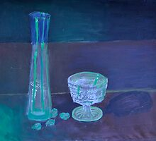 Glass Color Still Life by AmyeFrancis