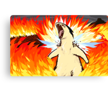 Typhlosion | Blast Burn Canvas Print
