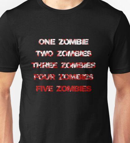 arghh zombies! Unisex T-Shirt