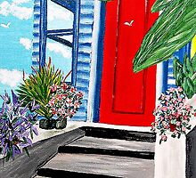 Judalees Feng Shui Door by WhiteDove Studio kj gordon