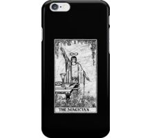 The Magician Tarot Card - Major Arcana - fortune telling - occult iPhone Case/Skin
