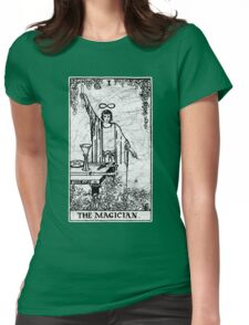 The Magician Tarot Card - Major Arcana - fortune telling - occult Womens Fitted T-Shirt