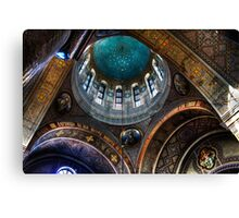 Russian Orthodox Cathedral Canvas Print