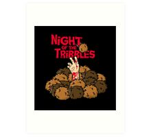Night of the Tribbles Art Print