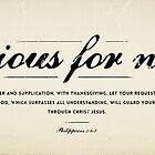 Philippians 4:6-7 by Dallas Drotz