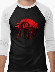 Lone Wolf and Cub Men's Baseball ¾ T-Shirt