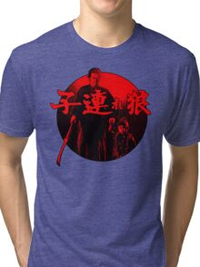Lone Wolf and Cub Tri-blend T-Shirt