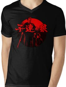 Lone Wolf and Cub Mens V-Neck T-Shirt