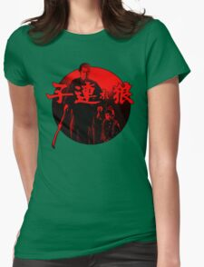 Lone Wolf and Cub Womens Fitted T-Shirt