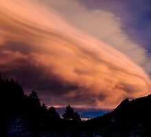 Flight of The Sunset Clouds by nikongreg
