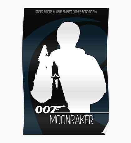 James Bond - Moonraker Poster