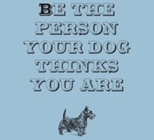 Be the Person - Scottish Terrier Kids Tee