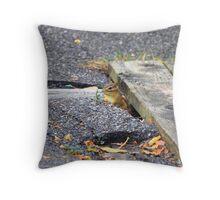 adorable chipmunk Throw Pillow