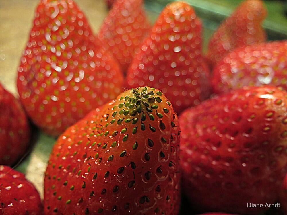 Strawberry Seeds by Diane Arndt