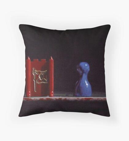 Sideways Glance II Throw Pillow