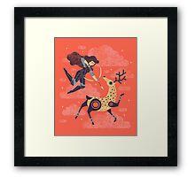 The Huntress Framed Print
