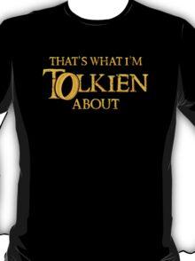 Let's Tolk About It T-Shirt