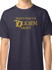 Let's Tolk About It Classic T-Shirt