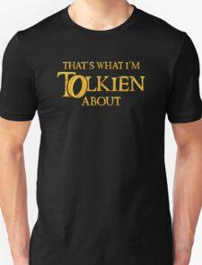 Let's Tolk About It Unisex T-Shirt