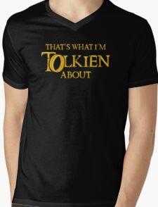 Let's Tolk About It Mens V-Neck T-Shirt
