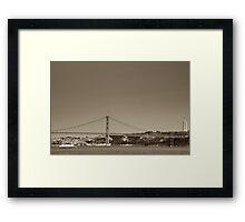 Tagus River Framed Print