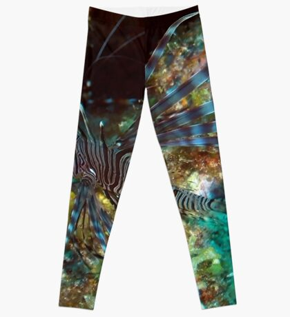 Lion Fish on the Reef Leggings