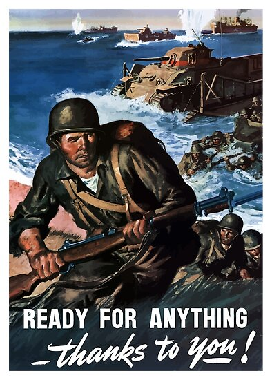 Ready For Anything Thanks To You -- WWII by warishellstore