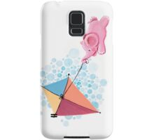 Kite Flying - Rondy the Elephant in the sky Samsung Galaxy Case/Skin