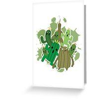 Cactuar Greeting Card