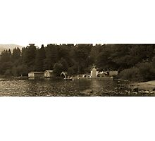 The Boat House Brockhole Photographic Print