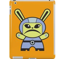 Cute Angry Alien Bunny!!! iPad Case/Skin