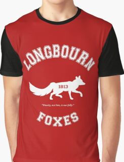 Longbourn Foxes - Pride and Prejudice - Team Bennet Graphic T-Shirt