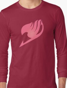 Fairy Tail PINK Long Sleeve T-Shirt