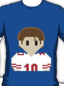 8Bit Eli Manning 3Enigma NFL Tee T-Shirt