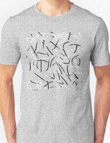 """""""Restless"""" Digital Calligraphy T-Shirt T-Shirt"""