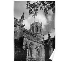 St Mary's Church - Nantwich, UK Poster