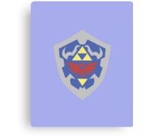 Hylian Shield (Zelda) Canvas Print