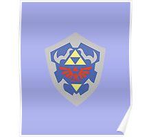 Hylian Shield (Zelda) Poster