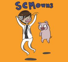SCMowns and Porkchop T-Shirt & Stickers by SCMowns
