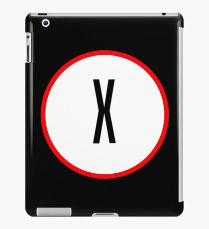 X Files X iPad Case/Skin