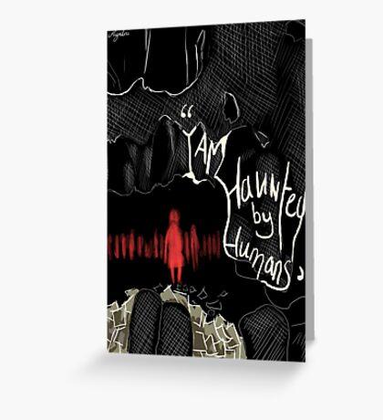 the book thief Greeting Card